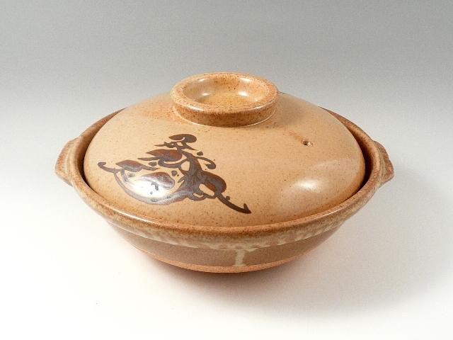 【安楽土鍋】 7寸(21cm 1~2人用)