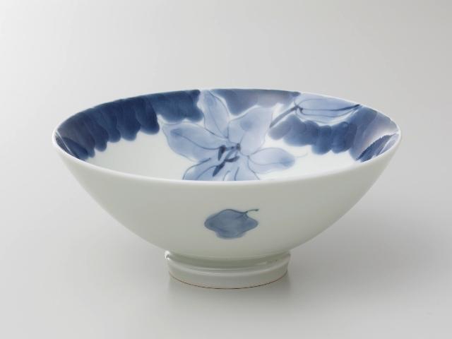 【匠の蔵 お茶漬け碗 小】 藍花