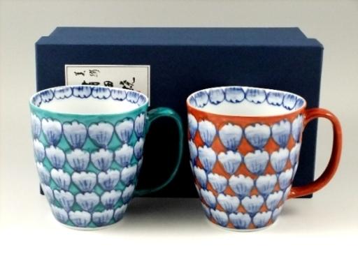花吹雪 ペアマグカップ