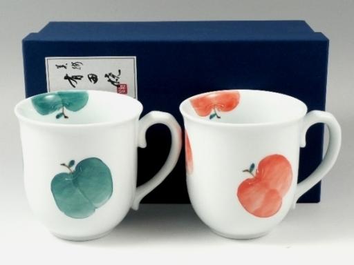 りんご ペアマグカップ