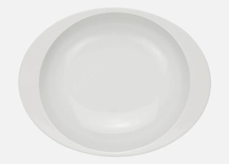 【匠の蔵 極上のカレー皿(小)】 白磁