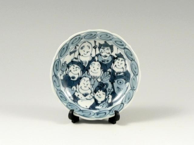 七福神 3寸皿