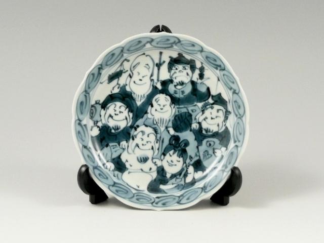 七福神 4寸皿