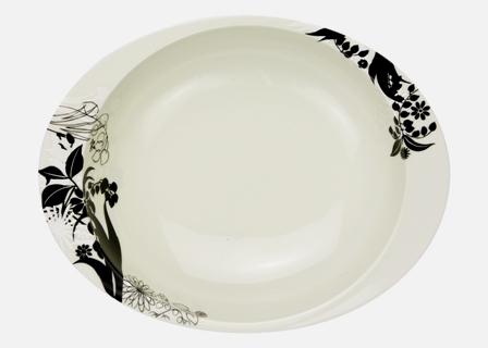 【匠の蔵 極上のカレー皿(小)】 シルエット