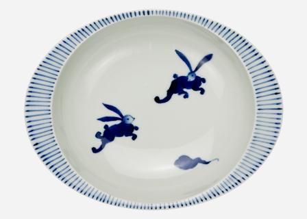 【匠の蔵 極上のカレー皿(小)】 うさぎ