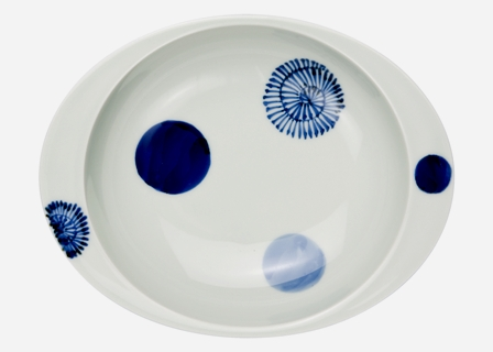 【匠の蔵 極上のカレー皿(小)】 丸紋