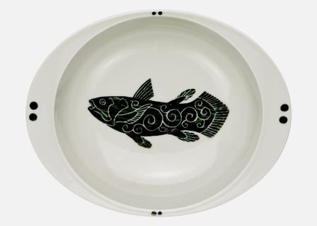 【匠の蔵 極上のカレー皿(小)】 シーラカンス