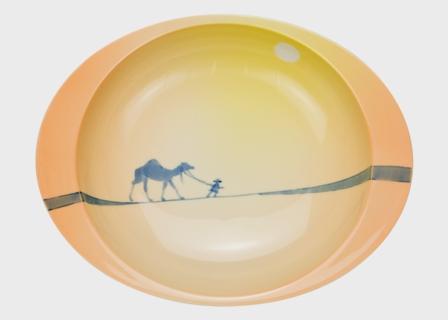 【匠の蔵 極上のカレー皿(小)】 タージマハル