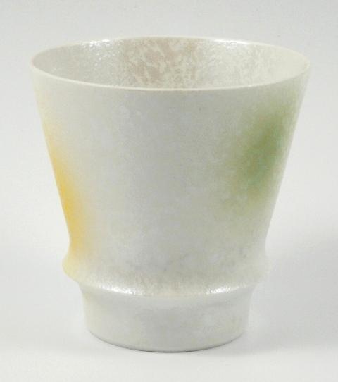 【匠の蔵 至高の焼酎グラス】 三色吹ラスター(緑) <オリジナル>