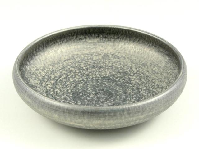 晶雲母銀 6寸鉄鉢