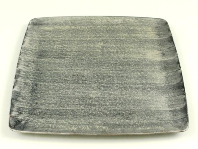 晶雲母銀 7寸正角皿
