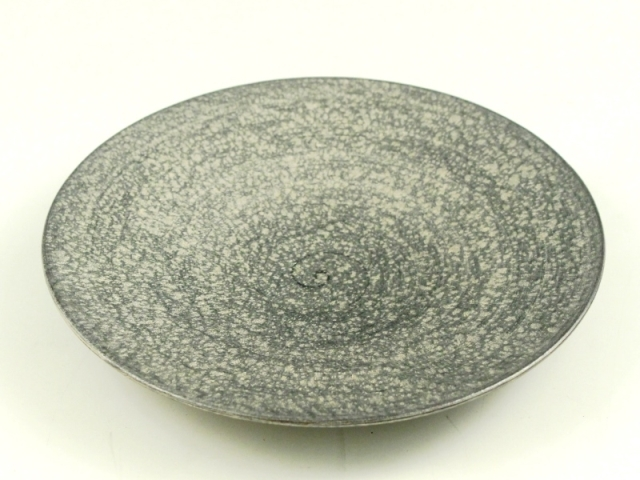 晶雲母銀 20cm平皿