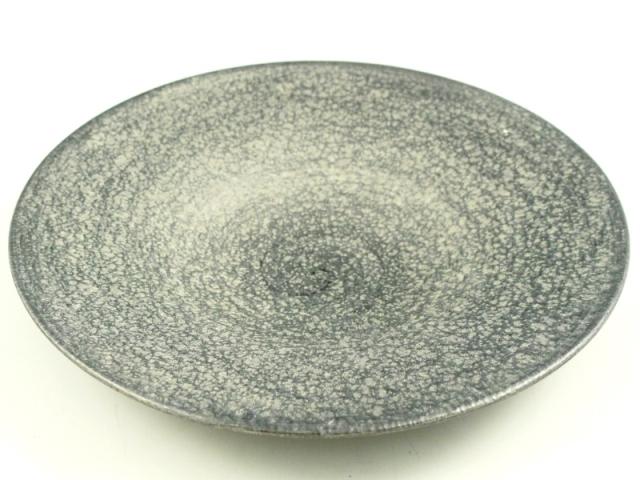 晶雲母銀 26cm平皿