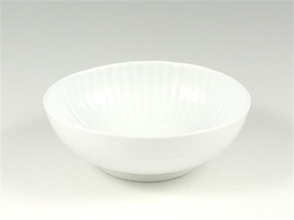 白磁 しのぎ小鉢