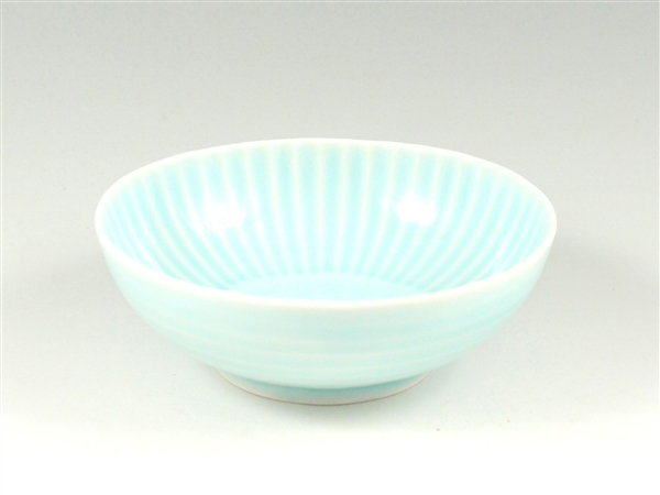青磁 しのぎ小鉢