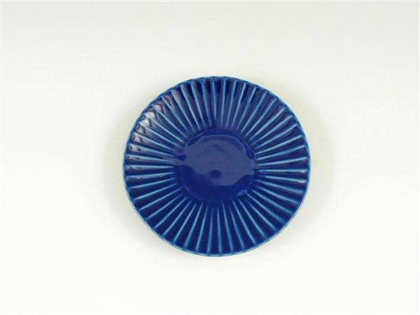 ルリしのぎ小皿【3.5寸皿 11cmプレート】