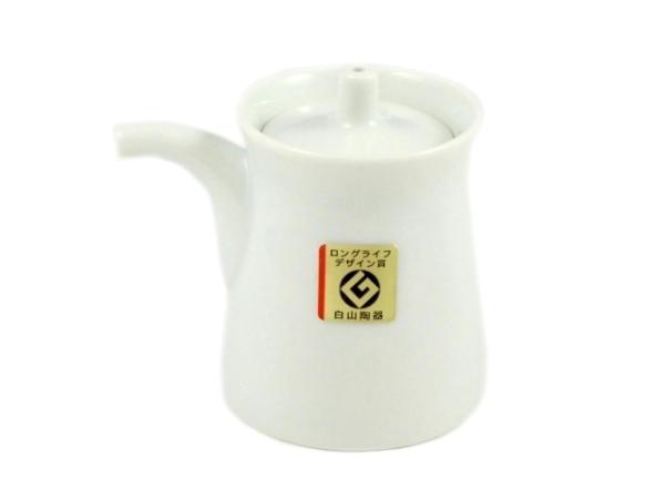 白山陶器(HAKUSAN) 白磁 G型しょうゆさし(小)