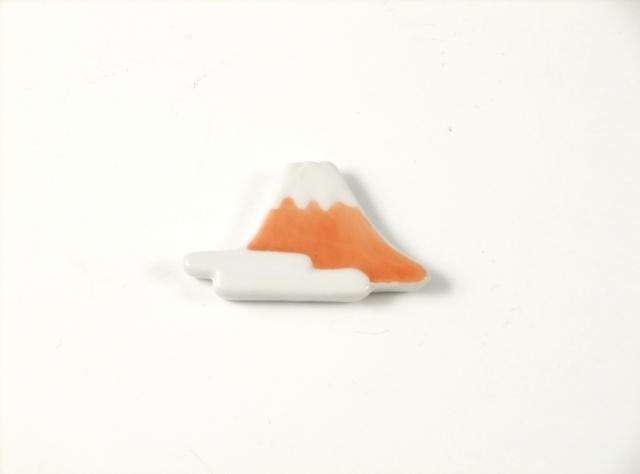 富士山(赤) 箸置