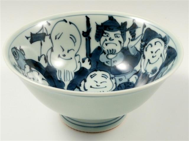 七福神 特大茶碗