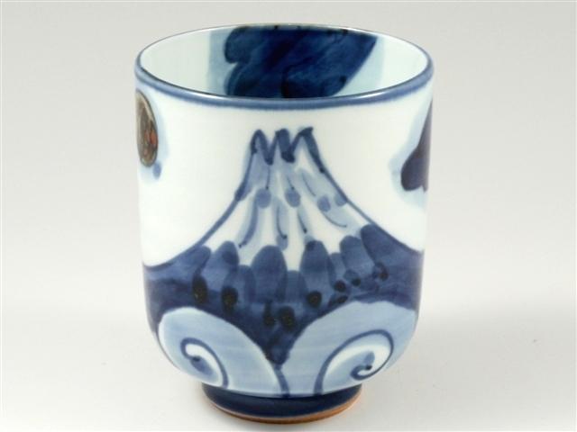 富士山 特大湯呑