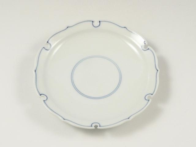 見込筋雪輪型 4寸皿