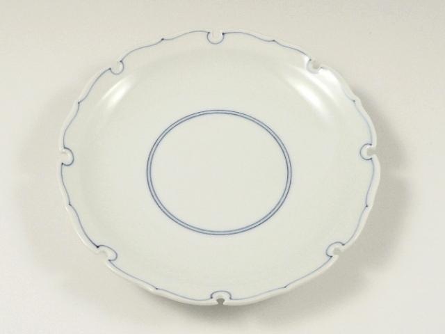 見込筋雪輪型 5寸皿
