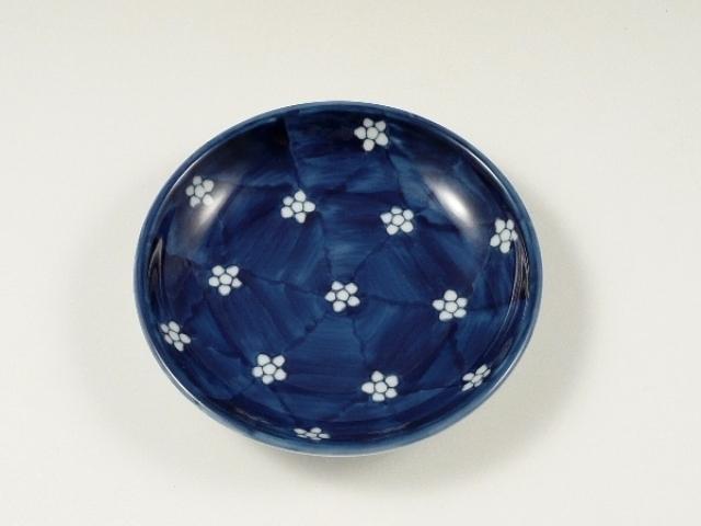梅小紋 4寸皿