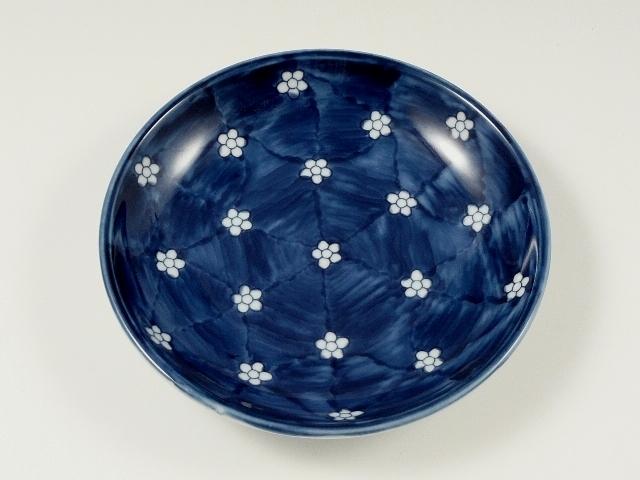 梅小紋 5寸皿