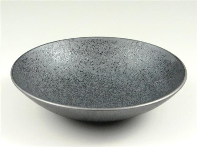 晶渕銀 深5寸皿