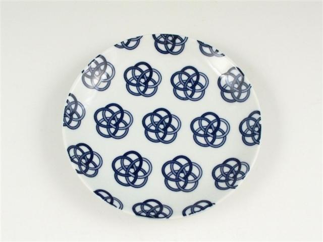 結 花結び 5寸皿