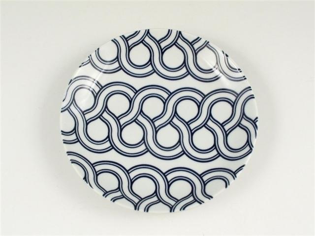 結 重ね編み 5寸皿