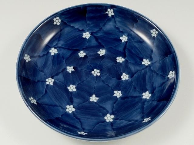 梅小紋 6寸皿