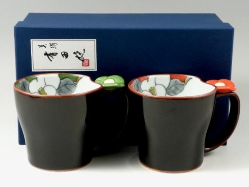 花絵蒔花 ペアマグカップ