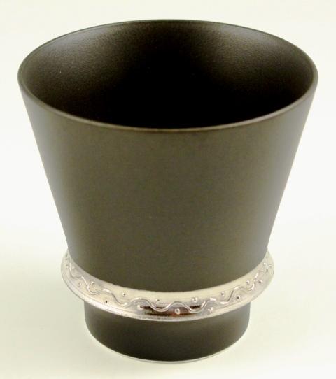 【匠の蔵 至高の焼酎グラス】 いぶし銀