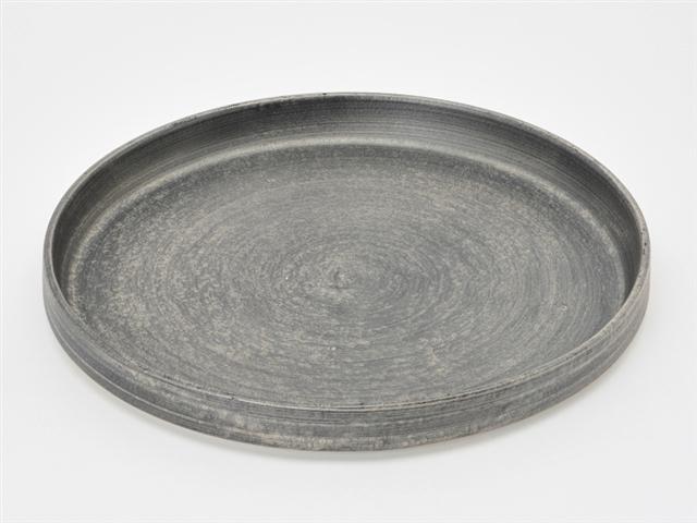 晶雲母銀 24cm肉皿