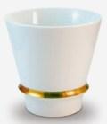 【オリジナル名入れ】  ハッピーリング(白) 至高の焼酎グラス