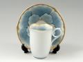 金牡丹輪花深型 コーヒーカップ&ソーサー