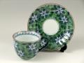 緑濃鉄仙花 コーヒーカップ&ソーサー