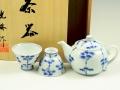 竹林 小茶器揃(玉露煎茶5 ミニポット1)