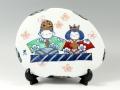 雛人形 陶板(大)