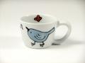 【名入れ・文字入れ】森の仲間たち(小鳥) ミニマグカップ