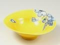 黄釉彩変型 小鉢