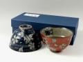 桜流水 組茶碗