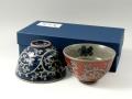 唐草紋 組茶碗