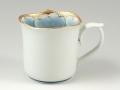 金牡丹輪花型 マグカップ