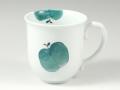 りんご(青) マグカップ