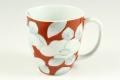 染錦椿(赤) マグカップ