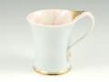 金ピンク牡丹流転型 マグカップ