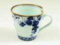 地紋ぶどう(青) マグカップ