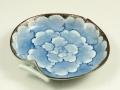 プラチナ牡丹 5寸りんご皿